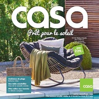 Catalogue Casa en cours, Prêt pour le soleil, Page 1
