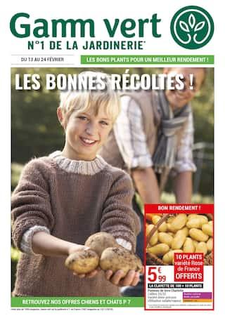 Catalogue Gamm Vert en cours, Les bonnes récoltes !, Page 1