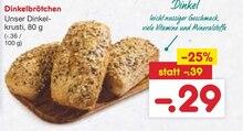 Backwaren von BACK STUBE im aktuellen Netto Marken-Discount Prospekt für 0.29€