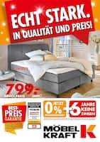 Aktueller Möbel Kraft Prospekt, Echt stark. In Qualität und Preis! , Seite 1