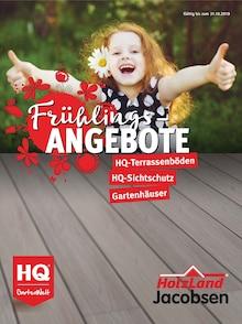 Holzland Jacobsen, FRÜHLINGS-ANGEBOTE für Friedrichskoog