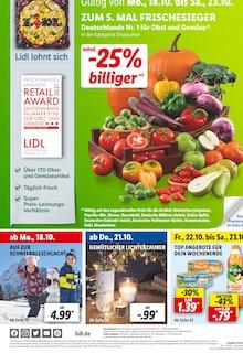 Lidl Prospekt für Bad König: ZUM 5. MAL FRISCHESIEGER, 58 Seiten, 17.10.2021 - 23.10.2021