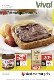 Catalogue Vival en cours, # Promos gourmandes !, Page 1