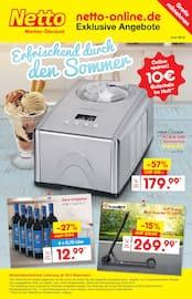 Aktueller Netto Marken-Discount Prospekt, Erfrischend durch den Sommer, Seite 1