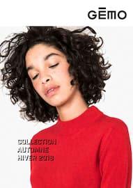 Catalogue Gémo en cours, Collection Automne - Hiver 2018-2019, Page 1