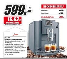 Elektronik von JURA im aktuellen Media-Markt Prospekt für 599€