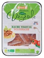 Haché végétal bolognaise à L'Eau Vive dans Grenoble