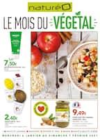 Catalogue NaturéO en cours, Le mois du végétal, Page 1