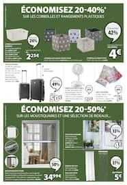 Catalogue Jysk en cours, Semaines vertes : économisez 20-50% sur les meubles de jardin, Page 7