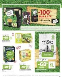 Catalogue Casino Supermarchés en cours, Sélection BIO, Page 17