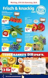 Aktueller ALDI SÜD Prospekt, Meine Woche, Seite 6