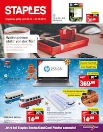 Staples, Weihnachten steht vor der Tür! für Frankfurt (Main)