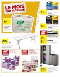 Catalogue Carrefour en cours, Le mois qui marque, Page 66