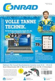 Conrad Electronic, Volle Tanne Technik. für Düsseldorf