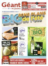 Catalogue Géant Casino en cours, Big bons plans de l'été, Page 1