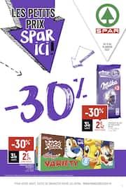 Catalogue Spar en cours, Les petits prix, Spar ici !, Page 1