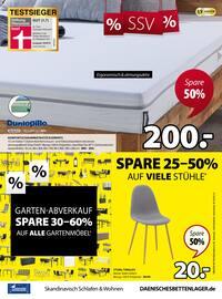 Aktueller Dänisches Bettenlager Prospekt, SSV - Spare bis zu 70%, Seite 17