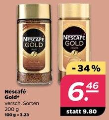 Kaffee von Nescafé Gold im aktuellen NETTO mit dem Scottie Prospekt für 6.46€