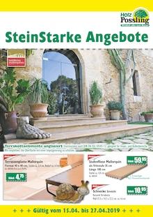 Holz Possling - SteinStarke Angebote