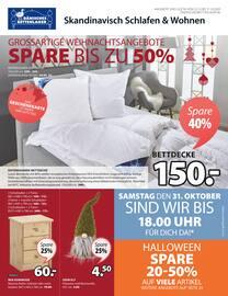 Aktueller Dänisches Bettenlager Prospekt, Großartige Weihnachtsangebote, Seite 1