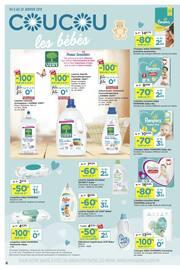 Catalogue Casino Supermarchés en cours, Coucou les bébés, Page 6