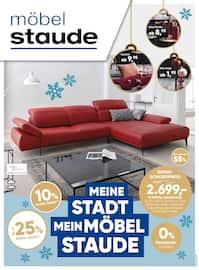 Aktueller Möbel Staude Prospekt, Meine Stadt - Mein Möbel Staude , Seite 1