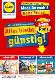 Aktueller Lidl Prospekt, Alles bleibt günstig!, Seite 1