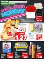 Aktueller Kaufland Prospekt, SPECIAL FOOD MONDAY, Seite 1