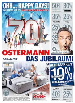 Aktueller Ostermann Prospekt, Ohh… Happy Days!, Seite 1