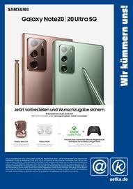 Aktueller aetka Prospekt, Wir kümmern uns! Samsung Galaxy Note20, Seite 1