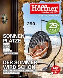 Höffner, GARTENMÖBEL 2019 für Hamburg1
