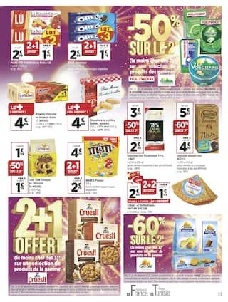 Catalogue Géant Casino en cours, Joyeuses économies à tous !, Page 33