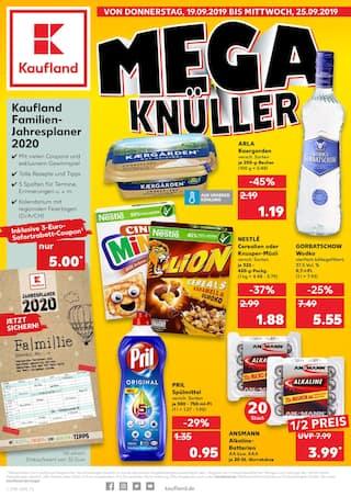Aktueller Kaufland Prospekt, Mega Knüller, Seite 1