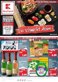 Kaufland, So schmeckt Asien für Stuttgart