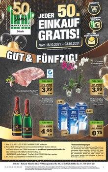 Marktkauf Prospekt für Zschaitz-Ottewig: Gut & Fünfzig!, 44 Seiten, 17.10.2021 - 23.10.2021