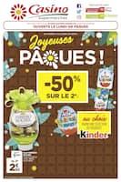 Catalogue Casino Supermarchés en cours, Joyeuses Pâques !, Page 1