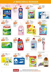 Waschmittel im Müller Prospekt BIO WOCHEN auf S. 11