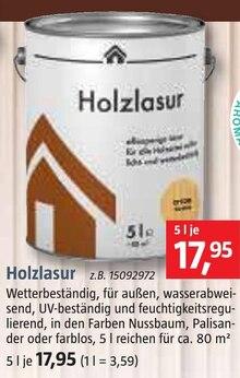 Holzlasur Angebot: Im aktuellen Prospekt bei BAUHAUS in Dorum