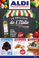 Catalogue Aldi en cours, Le meilleur de l'Italie , Page 1