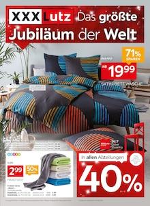 XXXLutz Möbelhäuser, DAS GRÖSSTE JUBILÄUM DER WELT! für Bochum