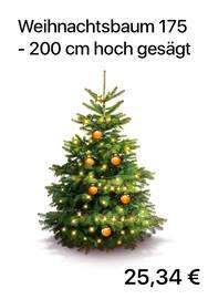 Aktueller OBI Prospekt, Weihnachtsbaum 175 - 200 cm hoch gesägt, Seite 1