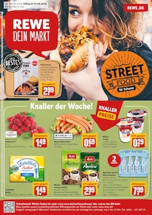 REWE, STREET FOOD FÜR ZUHAUSE für Köln
