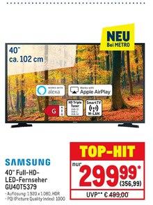 Fernseher von SAMSUNG im aktuellen Metro Prospekt für 356.99€