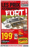 Catalogue Brico Dépôt en cours, Les prix frappent fort !, Page 1