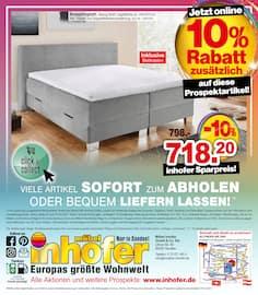 Aktueller Möbel Inhofer Prospekt, Europas größte Wohnwelt, Seite 8