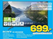 Fernseher von SONY im aktuellen EURONICS Prospekt für 699€