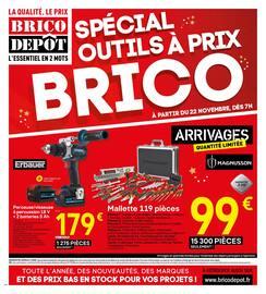 Catalogue Brico Dépôt en cours, Spécial outils à prix BRICO, Page 1