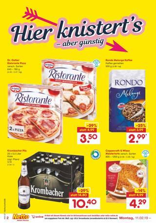Aktueller Netto Marken-Discount Prospekt, Liebe geht durch den Magen, Seite 2