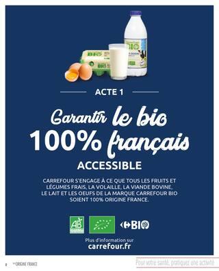 Catalogue Carrefour en cours, Manger mieux moins cher !, Page 2
