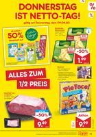 Aktueller Netto Marken-Discount Prospekt, DONNERSTAG IST NETTO-TAG!, Seite 1